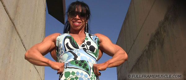 FULLFRAMEMUSCLE.COM: female muscle, videos and photos